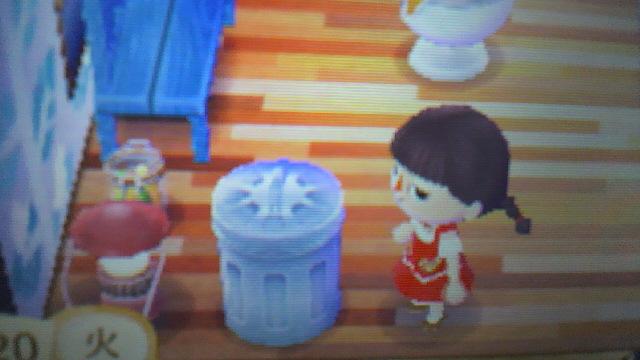 ゴミ箱 とび 森